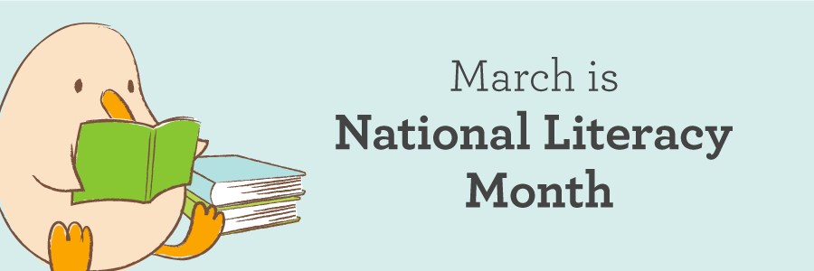 Image result for March is Literacy Month