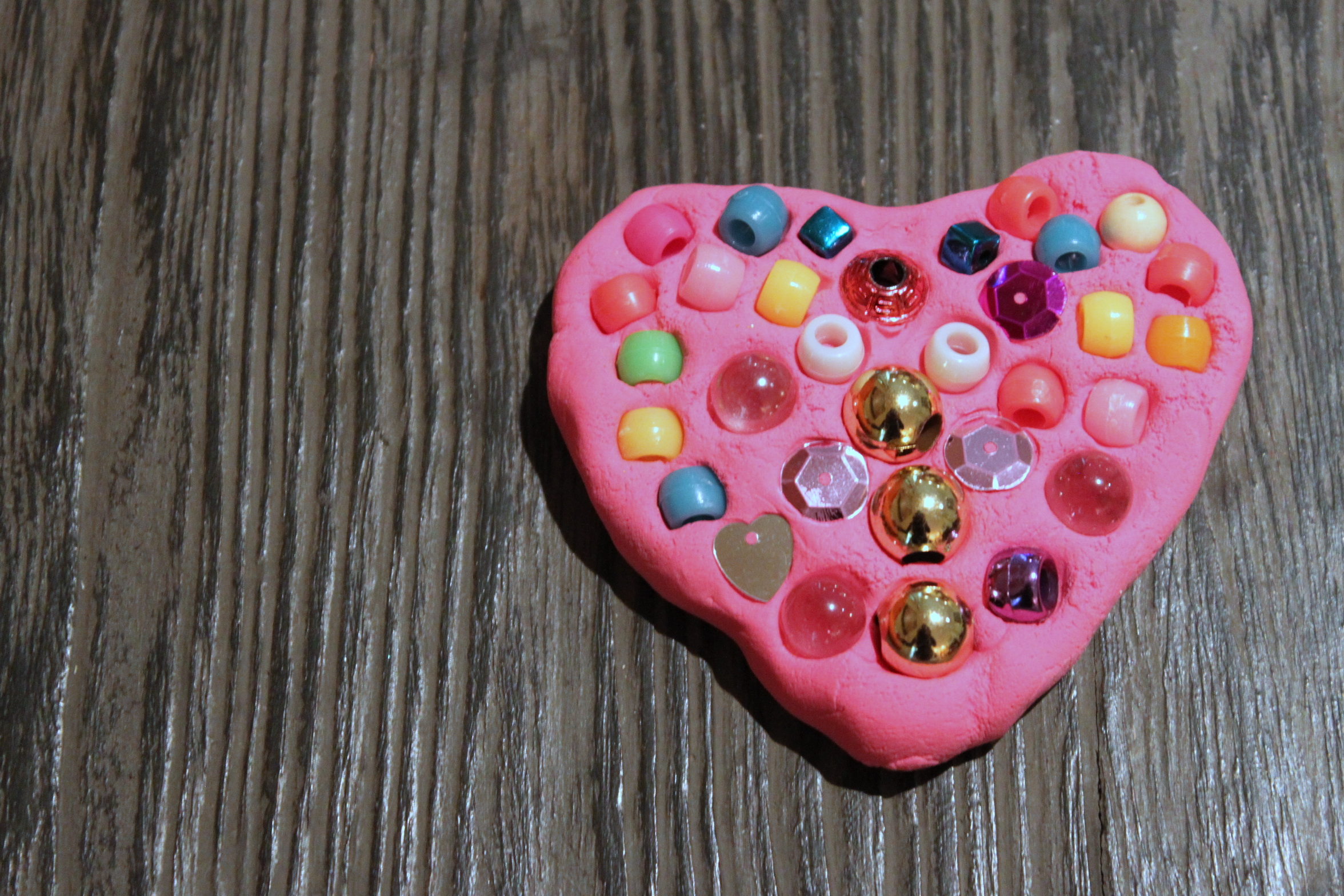 Use Stickers Gems Or Beads To Create The Perfect Mosaic Heart As An Extra Special Valentine