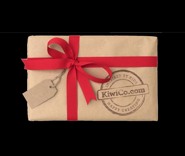 A KiwiCo gift box