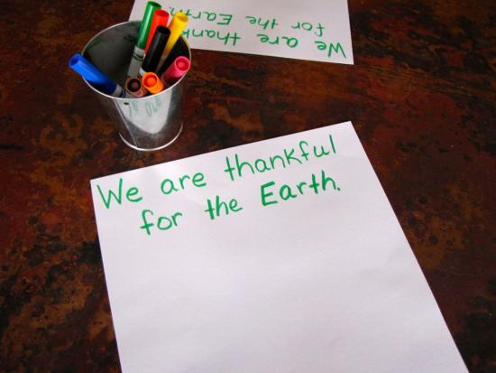 Thankfulness Notes DIY