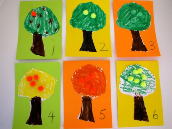 Citrus Tree Counting Game
