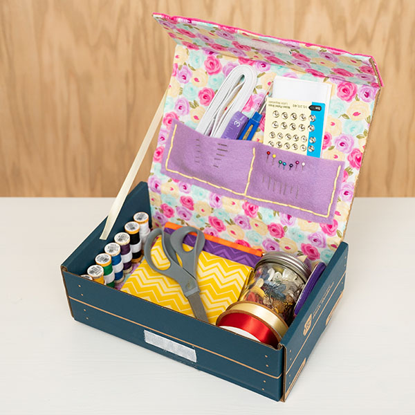 Upcycled Craft: Sewing Box