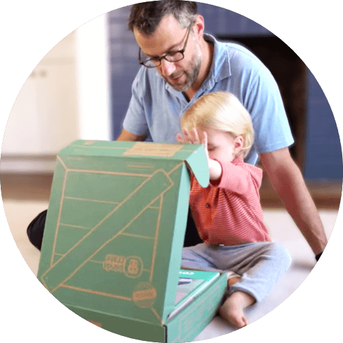 Open Panda Crate with Parent