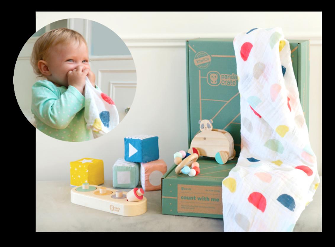 Panda Crate as Gift