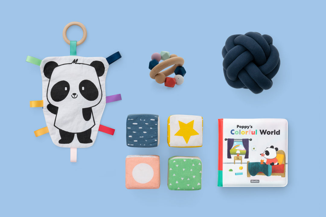 Panda Crate is a subscription box for babies 0-24 months.